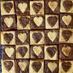 Hearted Brownies