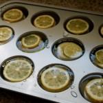 Cubos de gelo sabor limão