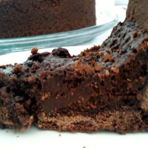 Torta Vulcânica de Chocolate