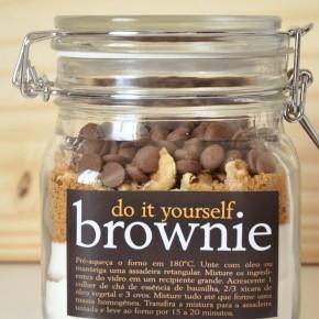 Dia das mães: Brownie DIY