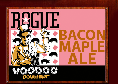 Rogue Ale Voodoo Doughnut: A cerveja de bacon e maple syrup