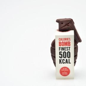 Calories bomb: a verdadeira bomba de chocolate