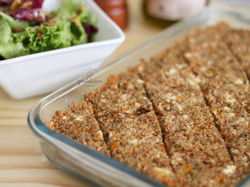 Kibe Vegetariano. Receita maravilhosa com passo à passo completo em http://gordelicias.biz.