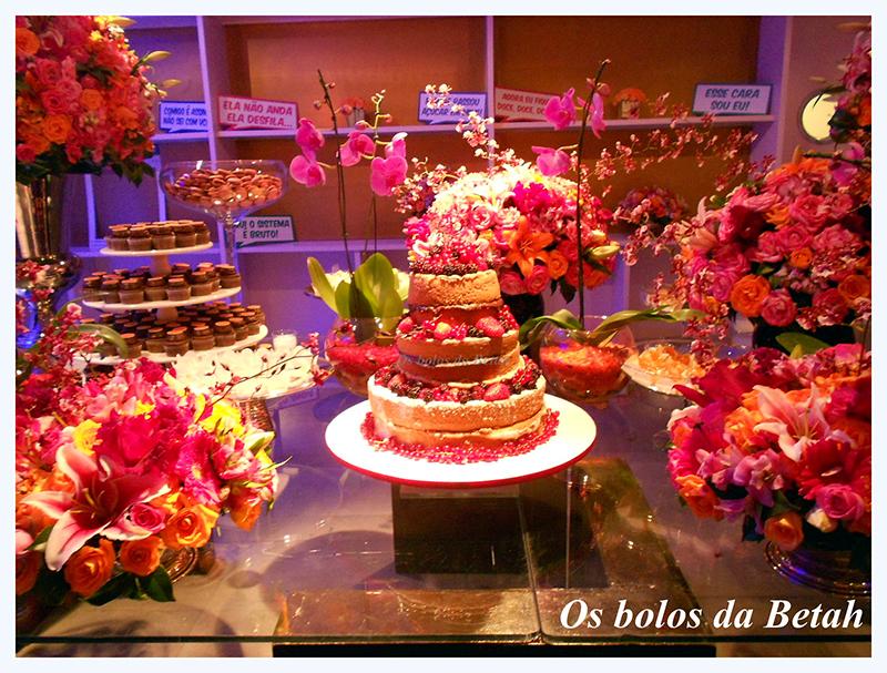 Naked cake - os bolos da Betah 2