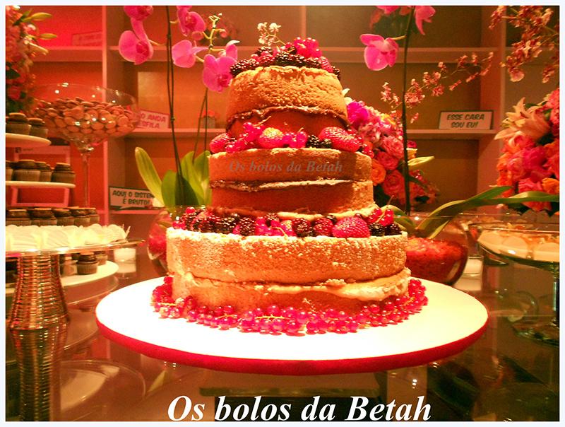 Naked cake - os bolos da Betah 4
