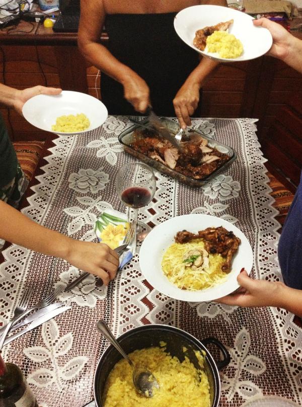 A Refeição em Família | Gordelícias