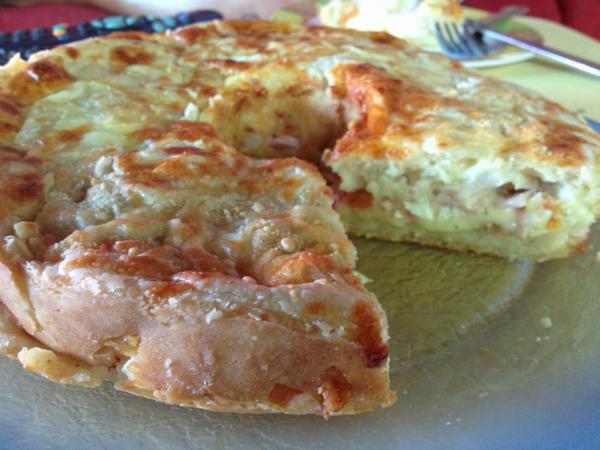 Receita de Torta de Liquidificador - Torta Rápida de Tomate e Peito de Peru | Acesse: https://gordelicias.biz//