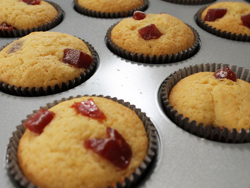 Muffin Fubá com Goiabada | Acesse: https://gordelicias.biz//