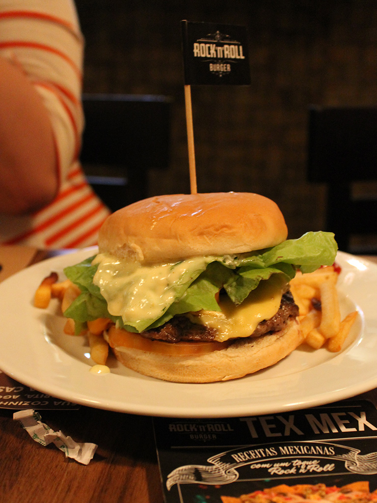 Rock'n'Roll Burger -
