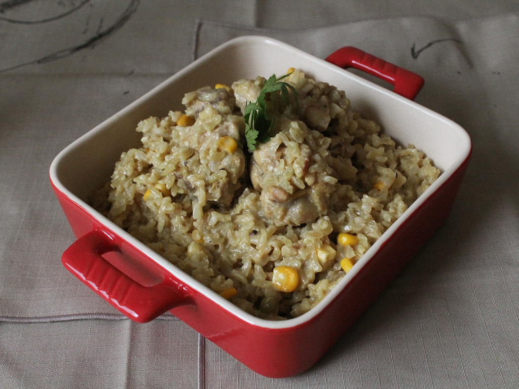 Arroz Integral com Frango e Curry | Acesse: https://gordelicias.biz/