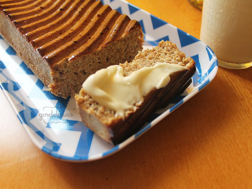 Pão Low Carb de Farelo de Trigo | Receita disponível em: https://gordelicias.biz//