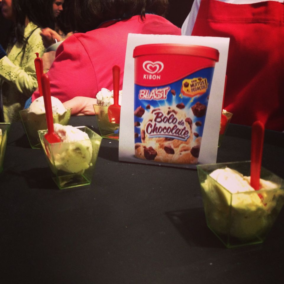 Evento Kibon | Bolo de Chocolate