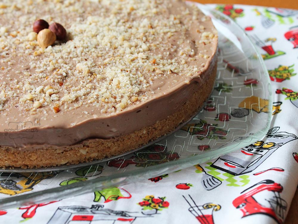 Cheesecake Creme de Avelã | Gordelícias