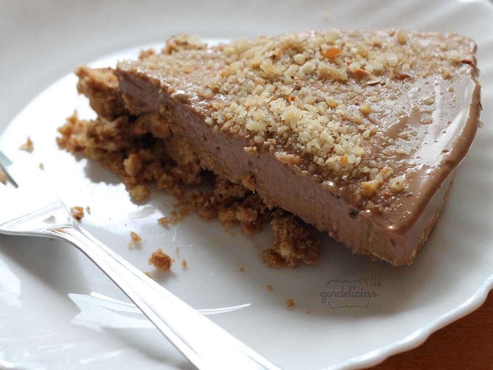 Cheesecake de Creme de Avelã | Gordelícias
