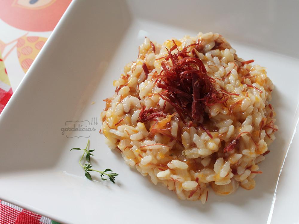 Risoto de Abóbora com Carne Seca | Gordelícias