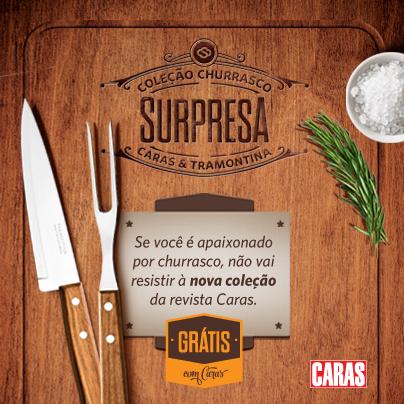 CARAS Churrasco Surpresa | Gordelícias