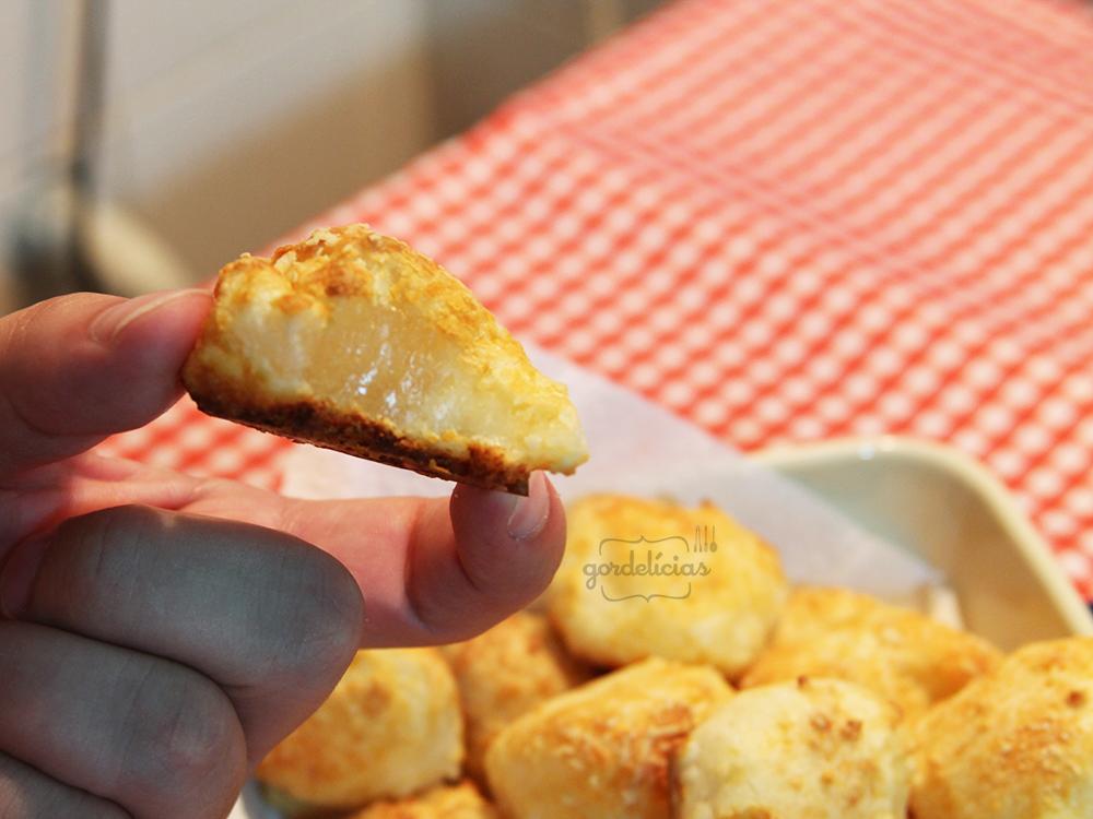 Pãozinho de Tapioca | Receita completa disponível em: http://gordelicias.biz