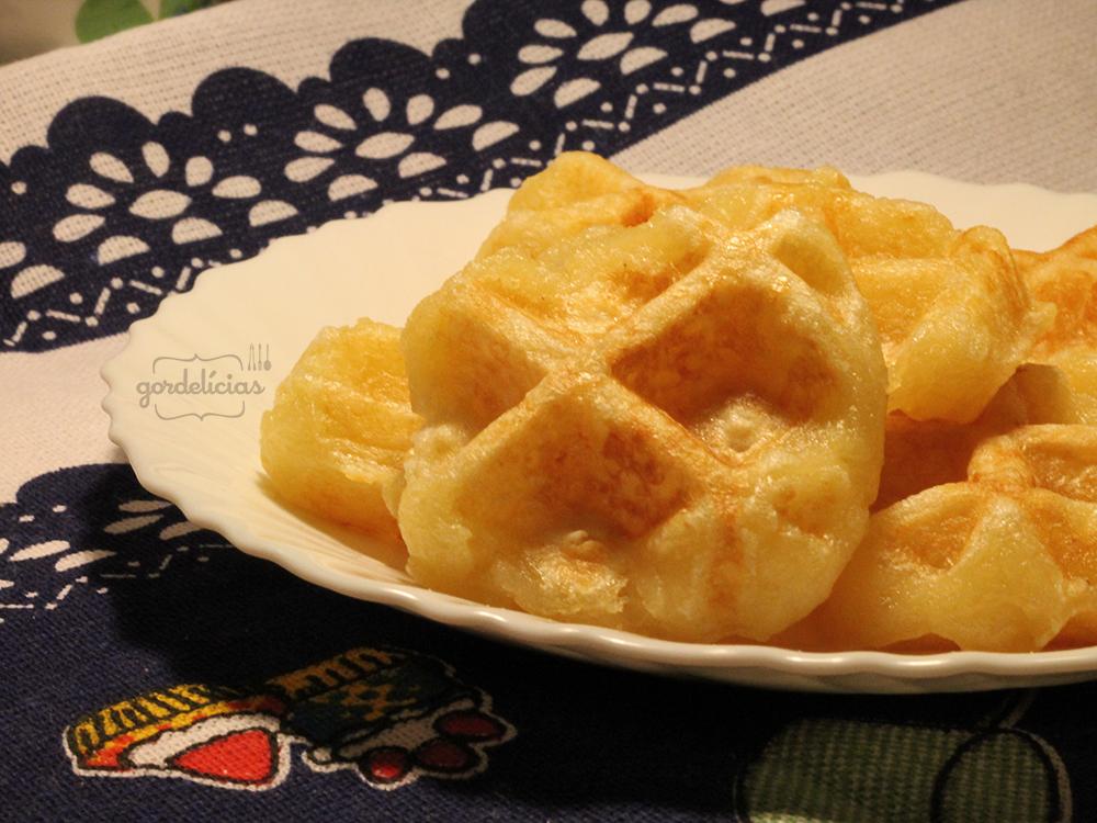 Waffle Pão de Queijo | Gordelícias