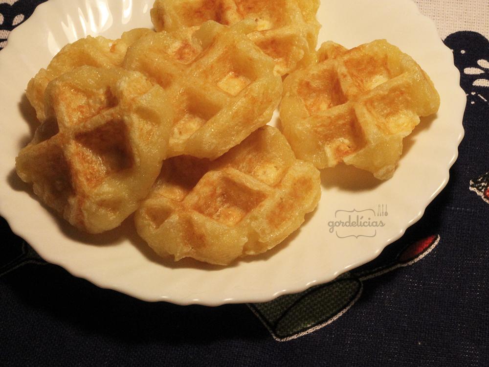Waffle de Pão de Queijo | Gordelícias