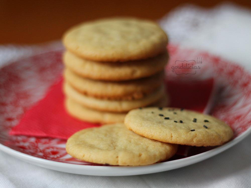 Cookie de Baunilha | Gordelícias