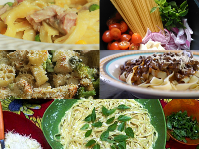 Receitas com Macarrão - Dia Mundial do Macarrão