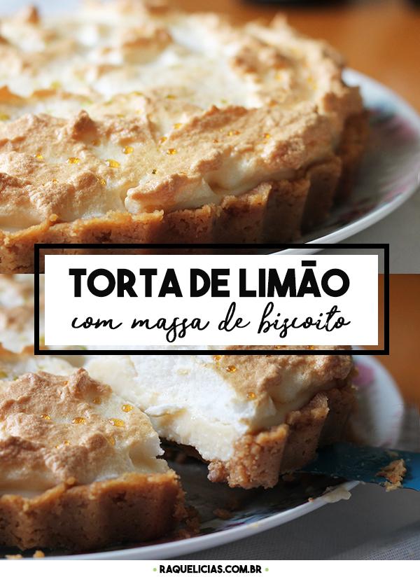 Torta de Limão | Raquelícias