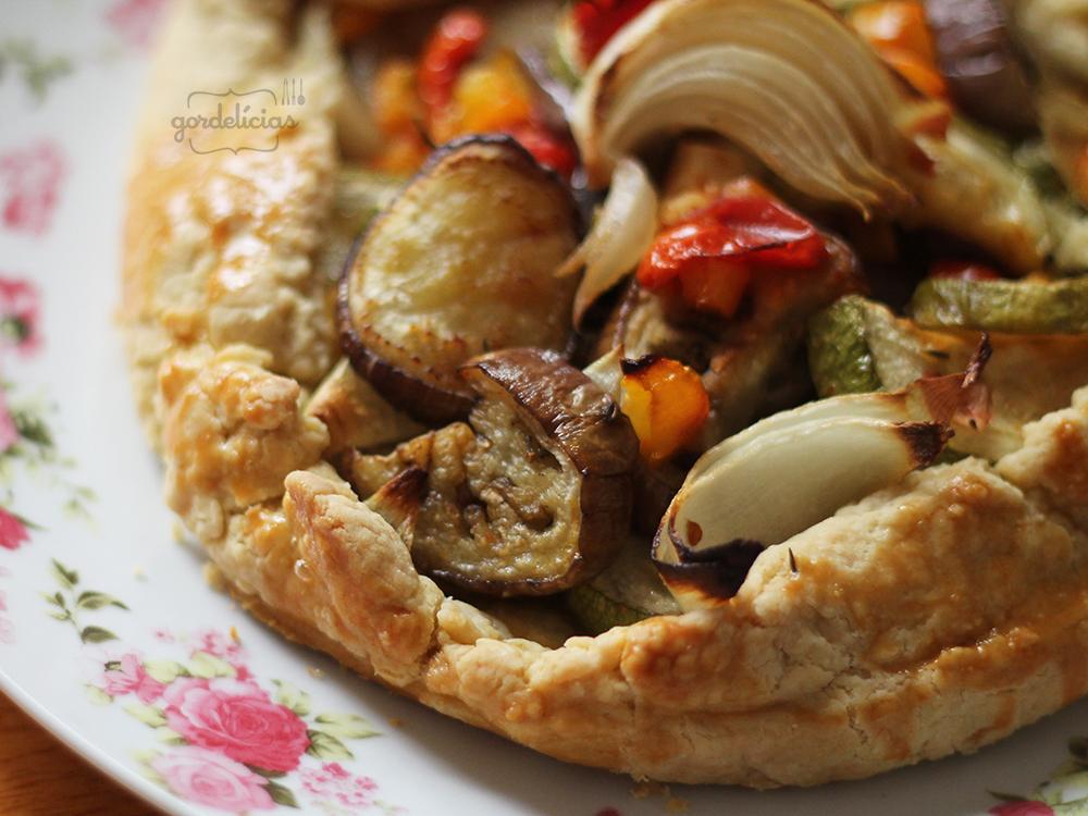 Torta Rústica de Rataouille | Gordelícias