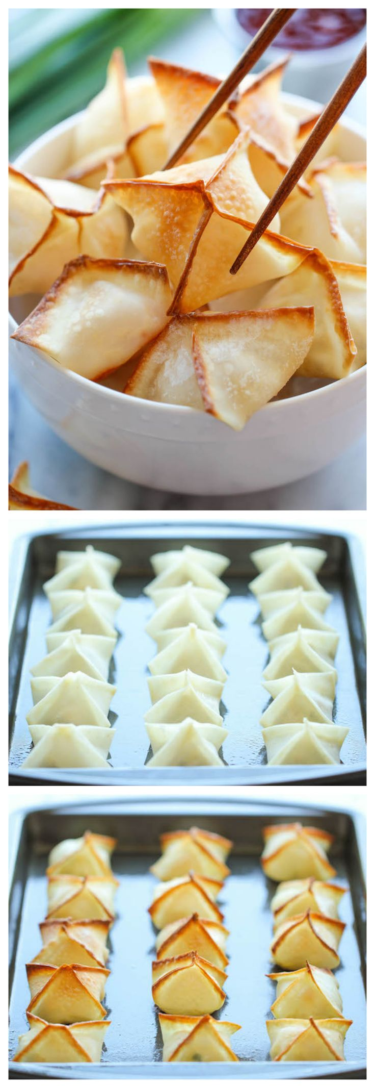 Cream Cheese Wonton | Gordelícias