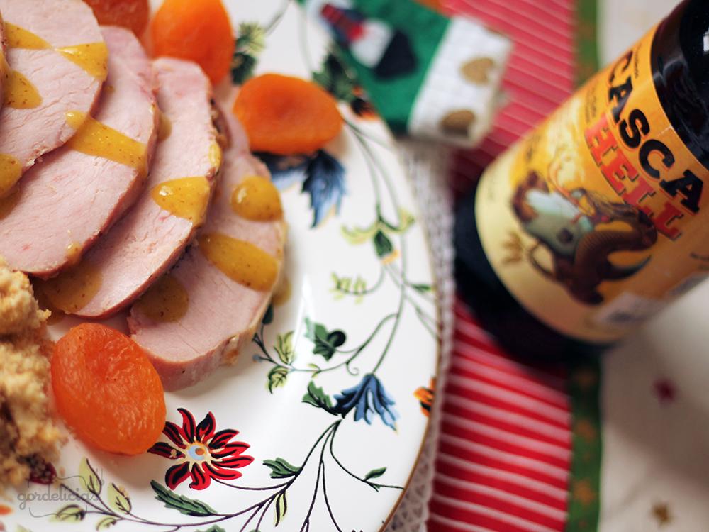 Lombo e Farofa de Ovos | Gordelícias