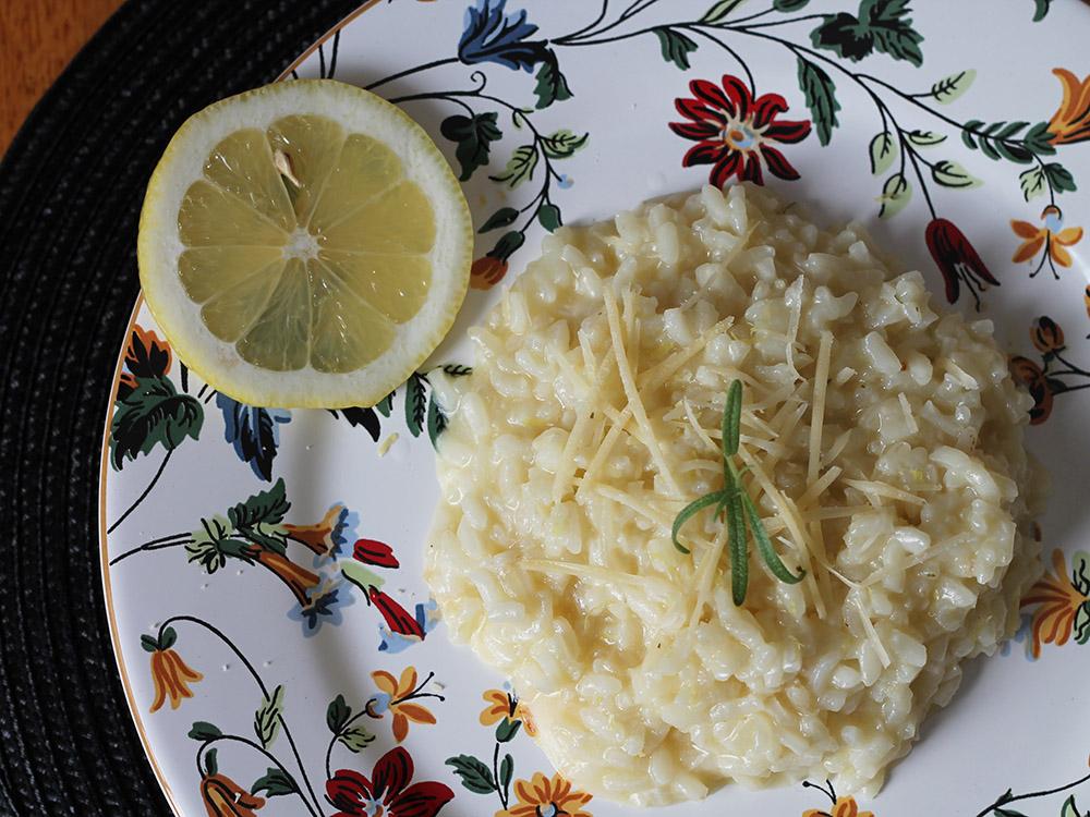 Risoto de Limão Siciliano - gordelícias
