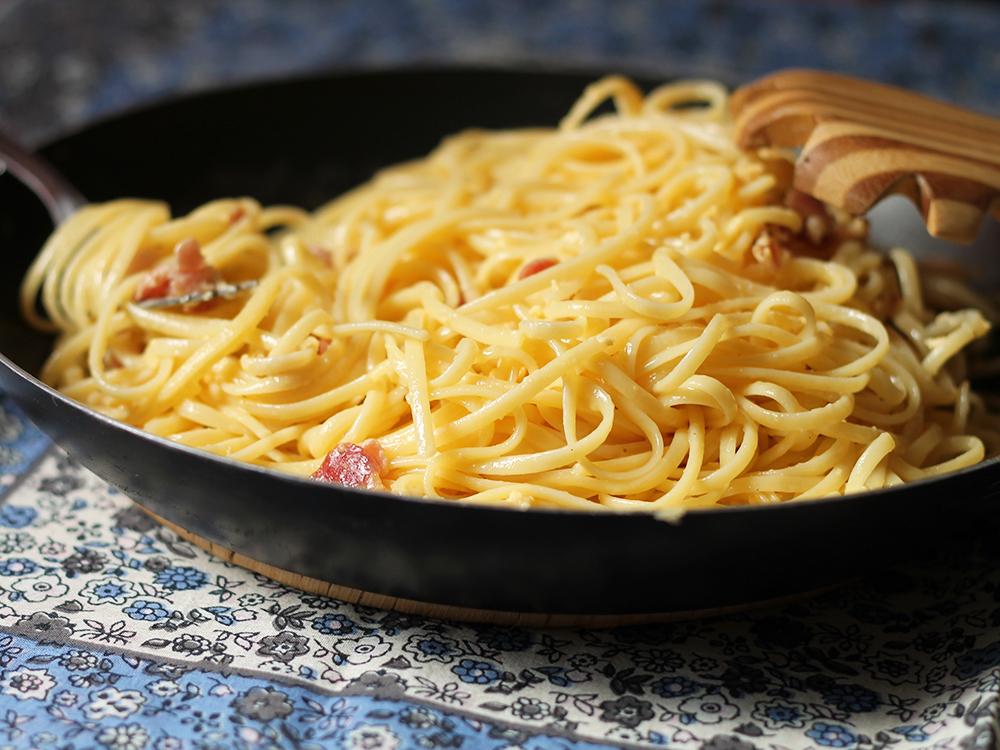 Espaguete à Carbonara - gordelícias