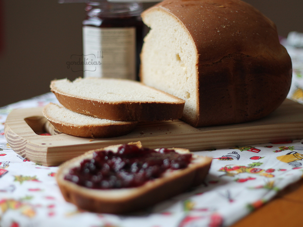 Pão Tradicional na Máquina de Pão | Gordelícias