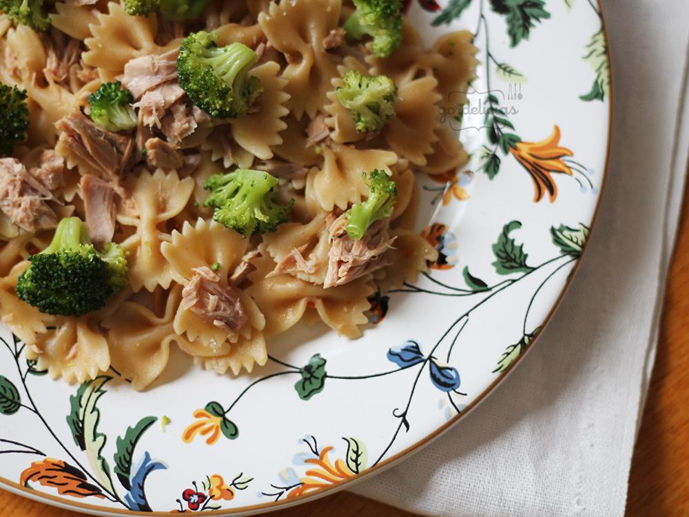 Salada de Atum com Brócolis | Gordelícias