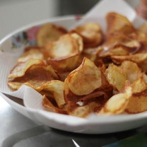 Como Fazer: Batata Chips