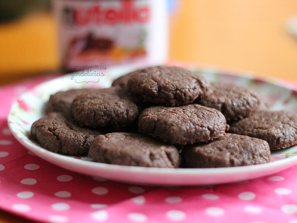 Cookies de Nutella | Gordelícias