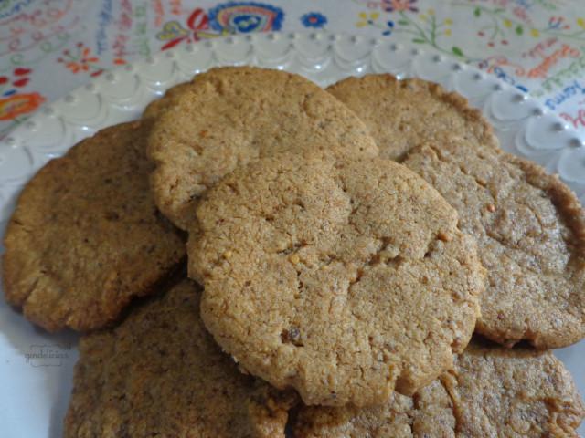 Cookies Veganos de Paçoquita Cremosa
