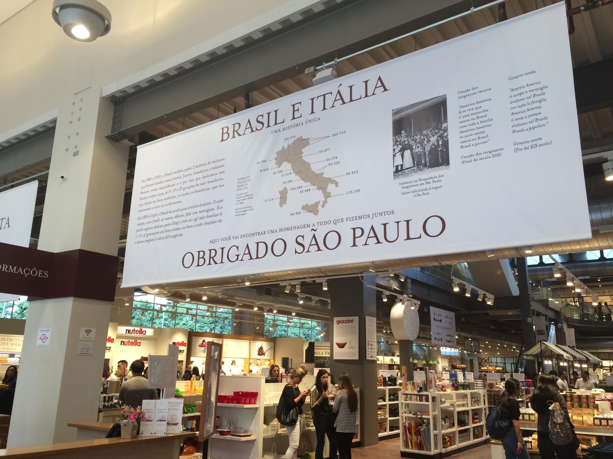 Eataly São Paulo. Mais em https://gordelicias.biz/.