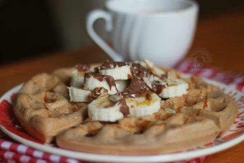 Waffle sem glúten (e sem lactose). Receita completa em http://gordelicias.biz.