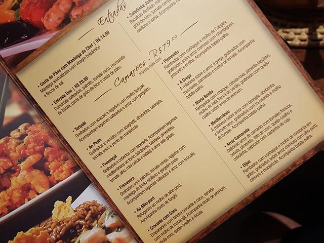 Camarada Camarão. Resenha do restaurante completinha em https://gordelicias.biz/.