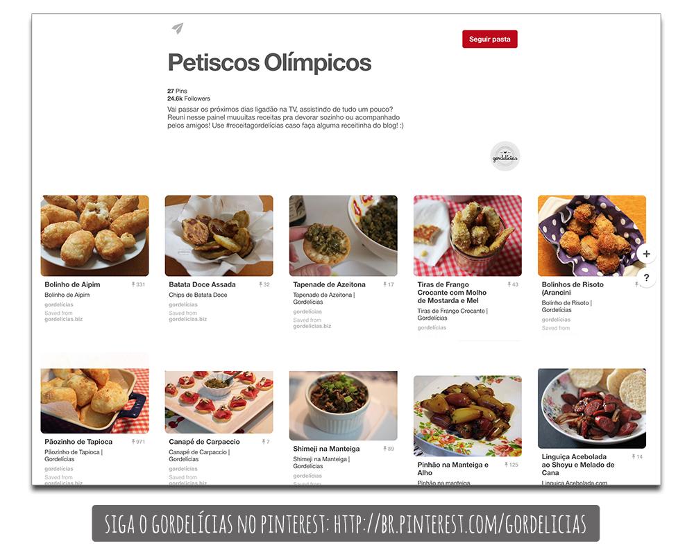 Petiscos Olímpicos :: Pinterest