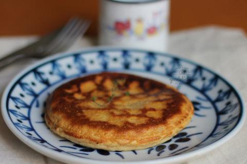 Pão de Queijo de Frigideira. Receita em http://gordelicias.biz.