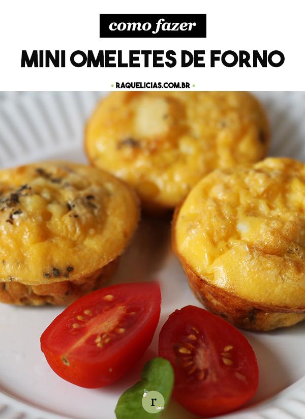 Mini Omeletes de Forno :: Raquelícias