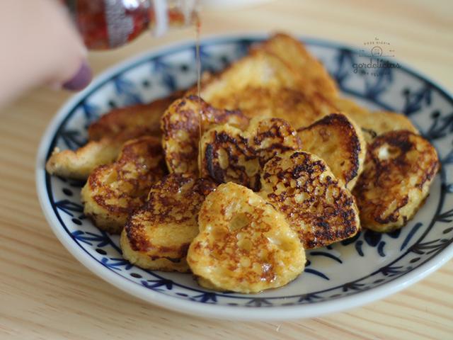Receita de French Toast. Receita fácil e rápida, além de deliciosa! Mais em http://gordelicias.biz.