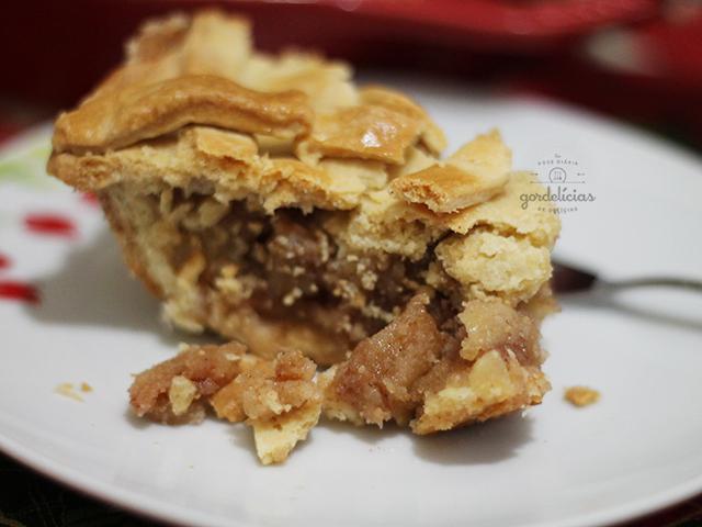 Torta de Maçã. Sobremesa clássica que ganha um toque especial e surpreendente na massa (receita da Rita Lobo, levemente adaptada). Mais em http://gordelicias.biz.