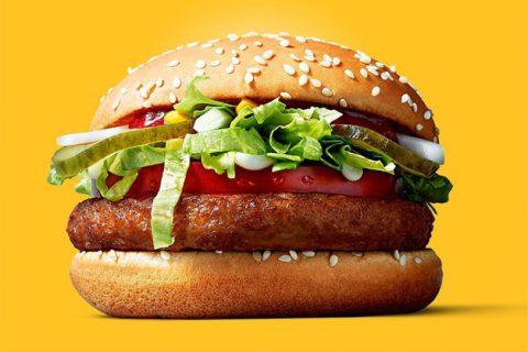 McDonald's anuncia lançamento do McVegan, primeiro hambúrguer vegano da rede de fast food. Saiba mais em http://gordelicias.biz.