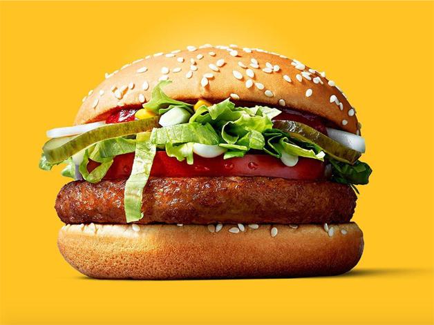 McDonald's anuncia lançamento do McVegan, primeiro hambúrguer vegano da rede de fast food. Saiba mais em https://gordelicias.biz/.