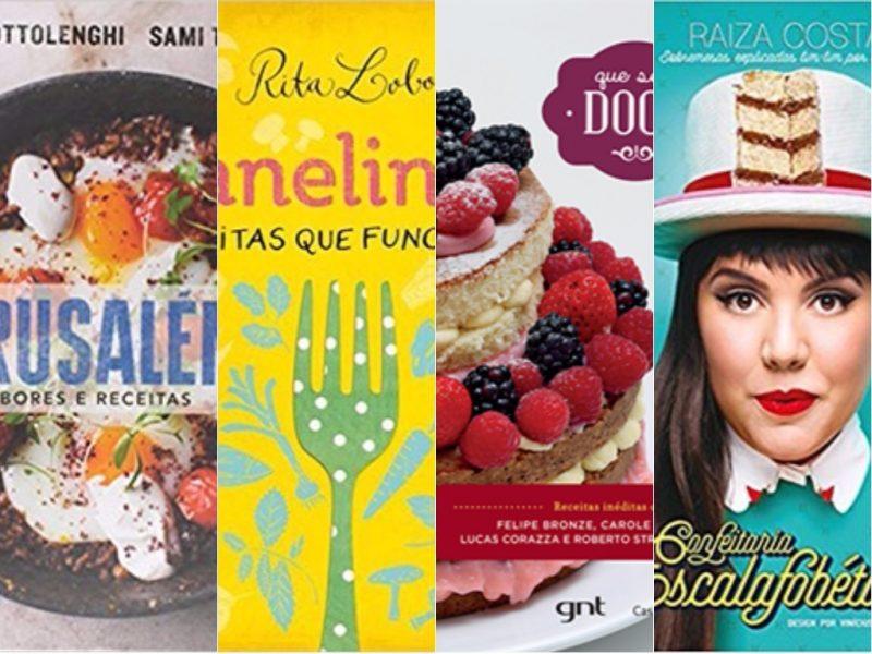 10 livros de culinária para presente de Natal