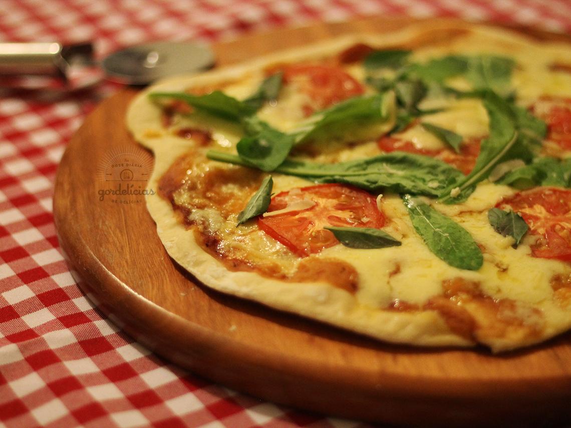 Massa Básica para Pizza na Máquina de Fazer Pão