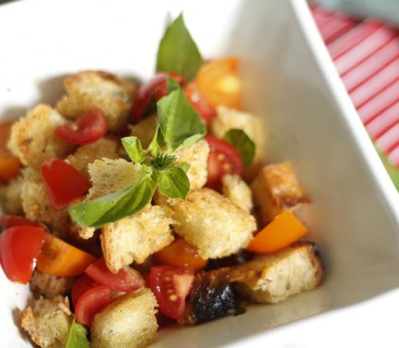 Panzanella - Salada de Pão Italiana :: Raquelícias