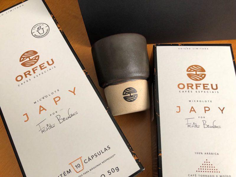 Orfeu Cafés Especiais lança parceria com Felipe Bronze